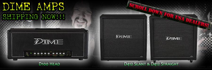Dime Amplifiers | Armadillo Enterprises